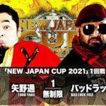 【新日本プロレス】NJC2021一回戦 矢野通vsバッドラック・ファレ【3.5後楽園・セミファイナル】