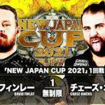 【新日本プロレス】NJC2021一回戦 デビット・フィンレー vs チェーズ・オーエンズ【3.10京都・第4試合】