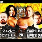 【新日本プロレス】6人タッグマッチ 新日本本隊 vs ケイオス【3.13愛知・第1試合】