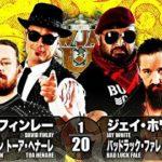 【新日本プロレス】6人タッグマッチ 新日本本隊 vs BULLET CLUB【3.16後楽園・第2試合】