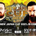 【新日本プロレス】NJC2021準々決勝 デビット・フィンレー vsジェイ・ホワイト①【3.18静岡・セミファイナル】