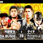 【新日本プロレス】6人タッグマッチ L.I.J vs 鈴木軍【3.20仙台・第3試合】