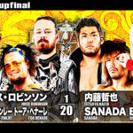 【新日本プロレス】6人タッグマッチ 新日本本隊 vs L.I.J【3.21仙台・第4試合】