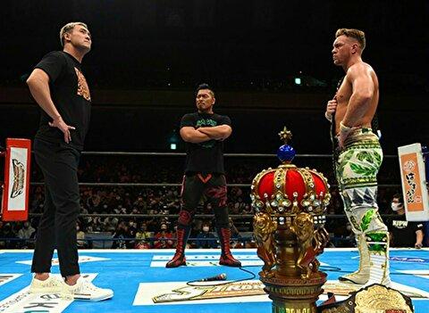 【新日本プロレス】新王者オスプレイが次期挑戦者にオカダを指名! しかし……【4.4両国・メイン終了後】
