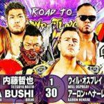 【新日本プロレス】8人タッグマッチ L.I.J vs ユナイテッド・エンパイア【4.20後楽園・セミファイナル】