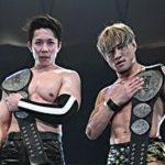 【新日本プロレス】タッグ王座防衛の3K! 締めのマイクはSHOの「痺れようぜー!」【4.28鹿児島】