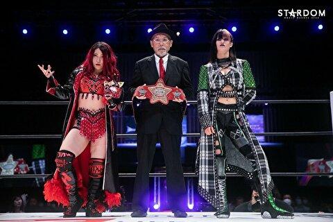 【スターダム】4.4横浜武道館で赤のベルトがセミだった理由 & ビーの新日移籍疑惑が浮上?