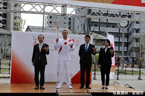 【新日本プロレス】オカダさん聖火ランナーお疲れ様でした! かっこよかったです