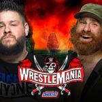 【WWE】 シングルマッチ ケビン・オーウェンズ vs サミ・ゼイン【4.11 フロリダ州タンパ】
