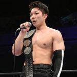 【新日本プロレス】新技で復帰戦を飾ったYOH、試合後にIWGPジュニア王座への挑戦を表明!