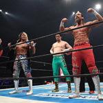 【新日本プロレス】6人タッグマッチ 新日本本隊 & ケイオス vs BULLET CLUB【5.4福岡・セミファイナル】