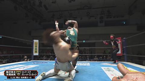 【新日本プロレス】掟破りのコブゴェ、ついに本家の飯伏に炸裂してしまう