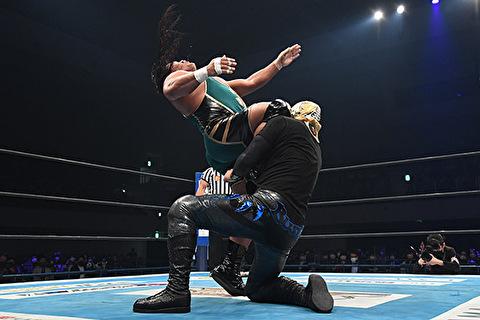 【新日本プロレス】ジェフ・コブのカミゴェ、飯伏のカミゴェより迫力あるな