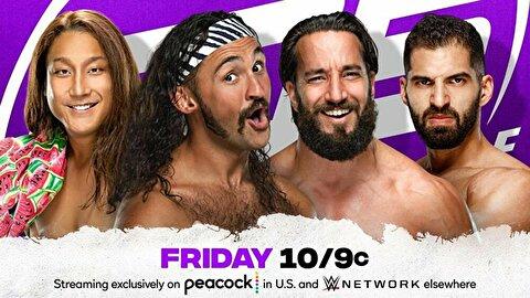 【WWE】笑撃のWWEデビューでイケメンワールド全開! ほんとよく許したな、これ