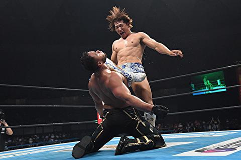 【新日本プロレス】カミゴェって特徴的で真似しやすいから因縁づくりに最適な技だな