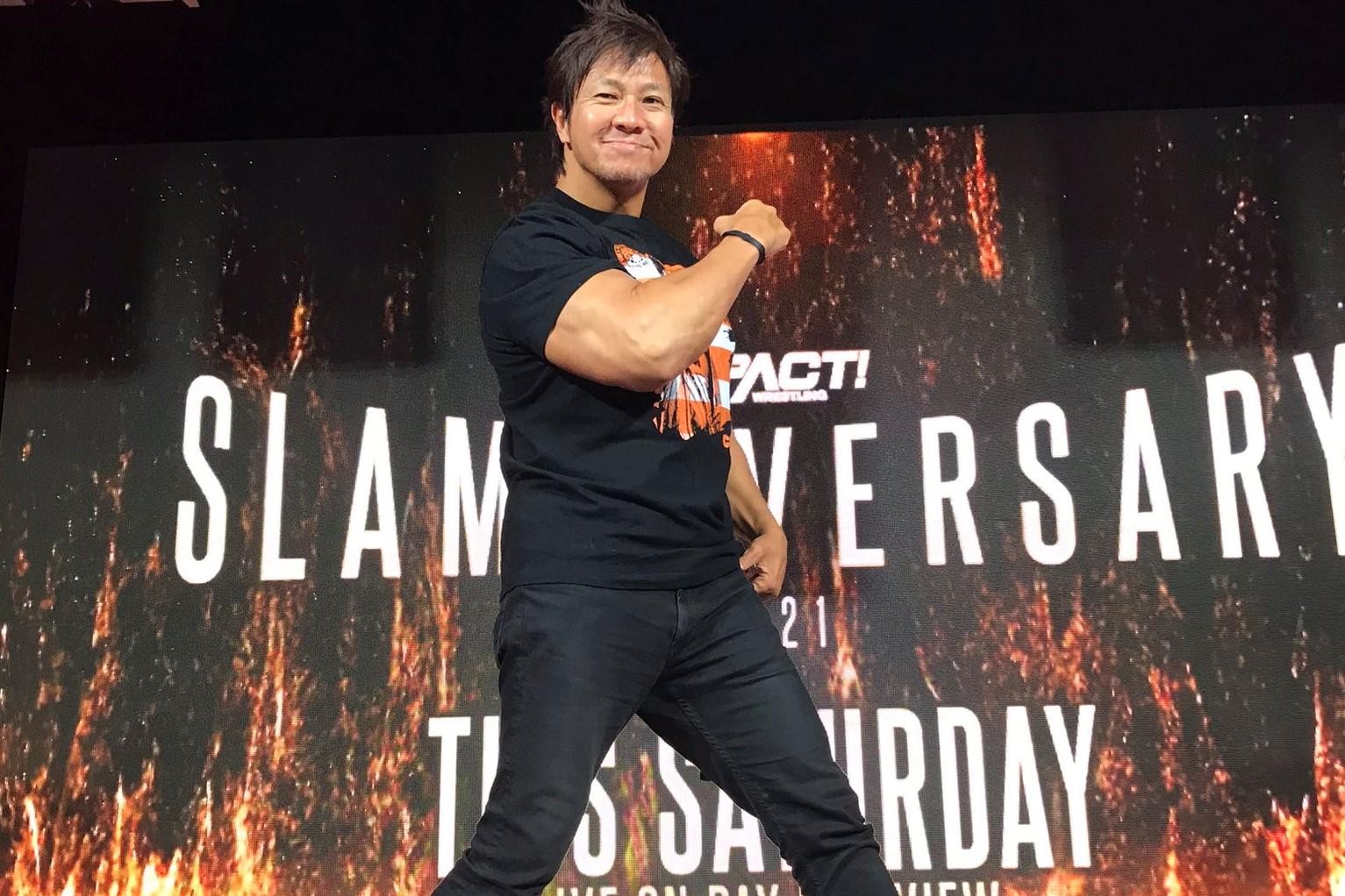 【新日本プロレス】小島聡のIMPACTデビューの情報が解禁! 狙うはIMPACTタッグ王座か