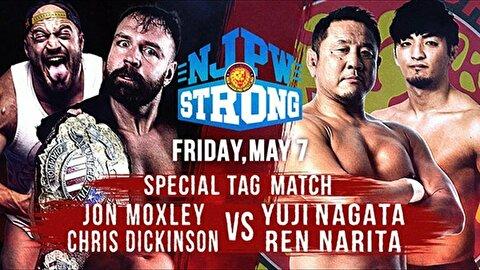 【AEW】永田さんとモクスリーがストロングで前哨戦、MOX再生工場みたいになってきた!