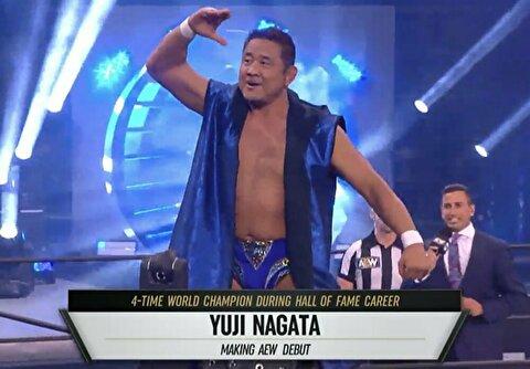 【AEW】試合後にモクスリーが最敬礼! やっぱ永田さんは世界のレジェンドだな