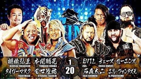 【新日本プロレス】8人タッグマッチ 新日本本隊 vs BULLET CLUB【6.1後楽園・第2試合】