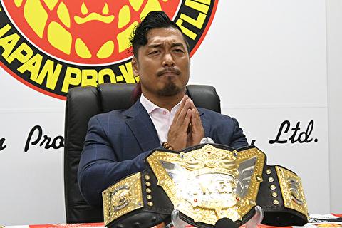 鷹木信悟が日本プロレス界最高のベルトを巻く衝撃
