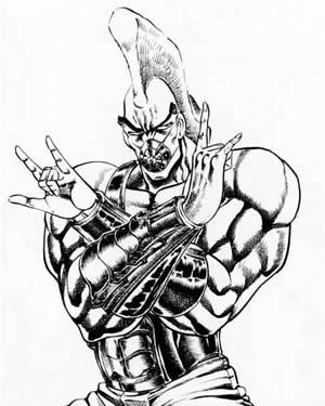 モヒカン代表 卍丸