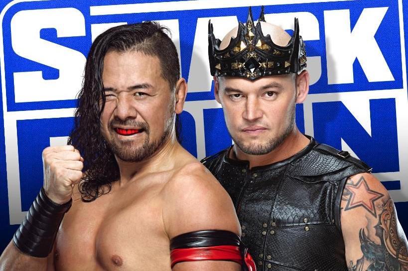 【WWE】中邑がキング・コービンを下して正式に王冠を獲得! 晴れてキング・真輔に!