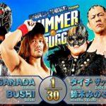 【新日本プロレス】6人タッグマッチ L.I.J vs 鈴木軍【7.17後楽園・第2試合】