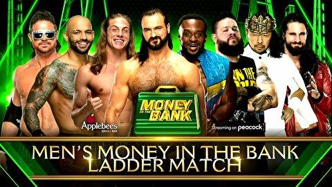 【WWE】男子マネー・イン・ザ・バンク2021【7.18テキサス】