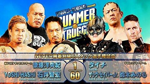 【新日本プロレス】NEVER無差別級6人タッグ選手権試合②【8.1後楽園・メイン】