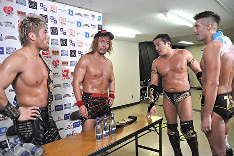【新日本プロレス】内藤がスポンサーの商品名を言い間違えるミス! ドームのリマッチに暗雲が立ち込める
