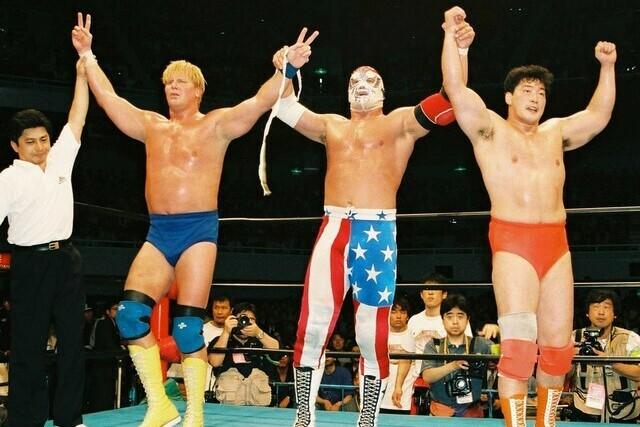 【訃報】覆面レスラーのパトリオットさん死去。享年59。90年代に全日本プロレス参戦