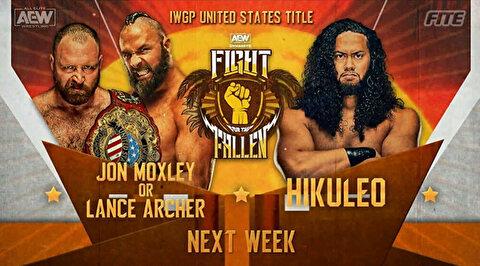 【AEW】ヒクレオと新王者ランス・アーチャーのIWGP-USヘビー級王座戦が決定!