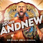 【AEW】ランス・アーチャーがジョン・モクスリーとの死闘を制し、IWGP-USヘビー級王座を奪還!