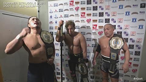 【新日本プロレス】ケイオスの3者3様のバックステージが文字通りケイオス【8.1後楽園】