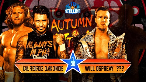 【9.26 Autumn Attack】ウィル・オスプレイのパートナーは誰なんだろう?