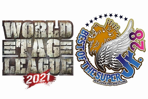 「WORLD TAG LEAGUE 2021」&「 BEST OF THE SUPER Jr.28」の開催が決定!優勝決定戦は12.15両国国技館!