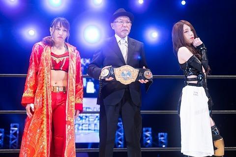 10.9大阪城ホール大会のMVPは小波の分も戦った鹿島沙希だよな?
